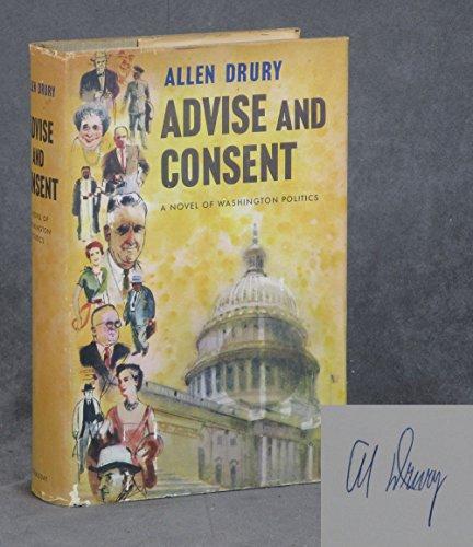 advise and consent: drury, allen
