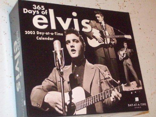9781562189488: 365 Days of Elvis 2003 Calendar