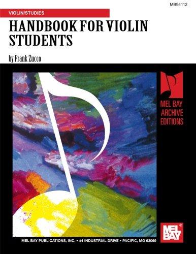 9781562221522: HANDBOOK FOR VIOLIN STUDENTS