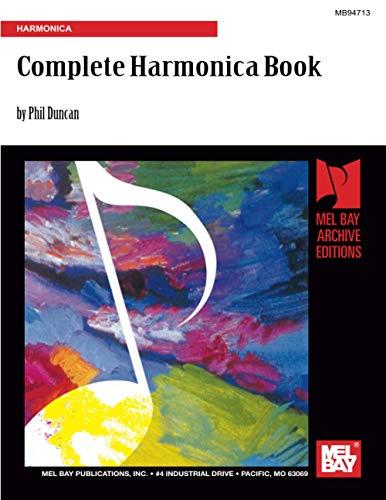 9781562222802: Complete Harmonica Book: Harmonica