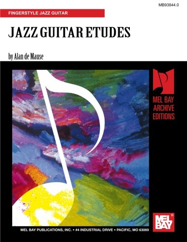 9781562223007: JAZZ GUITAR ETUDES