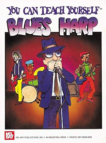 9781562223090: You Can Teach Yourself Blues Harp (Book Only)
