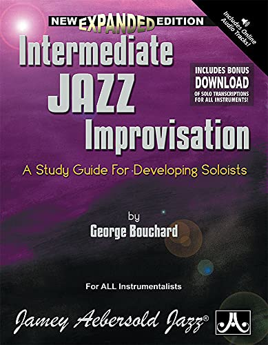 9781562240660: Intermediate Jazz Improvisation: A Study Guide For Developing Soloists (Book & 3-CD Set)