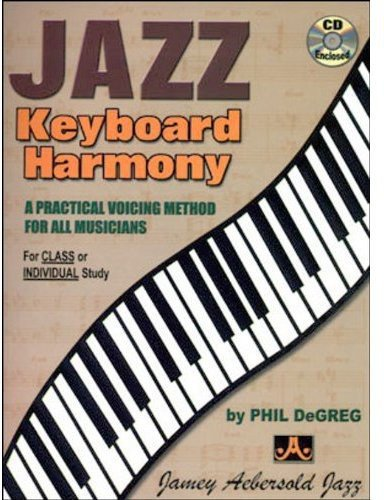 9781562240691: Jazz Keyboard Harmony: A Practical Voicing Method for All Musicians, Spiral-Bound Book & CD