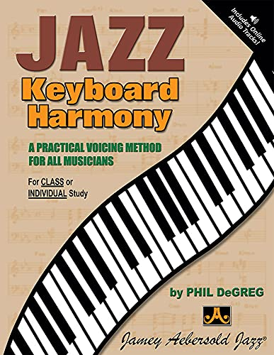 Jazz Keyboard Harmony - A Practical Voicing Method For All Musicians (Book & CD Set): Phil ...