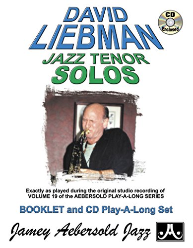 9781562240820: Jazz Tenor Solos (Book & CD Set)