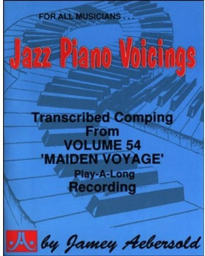 9781562240899: Transcribed Jazz Piano Accompaniment - From Volume 54 ''Maiden Voyage'' Play-A-Long (Jazz Piano Voicings)