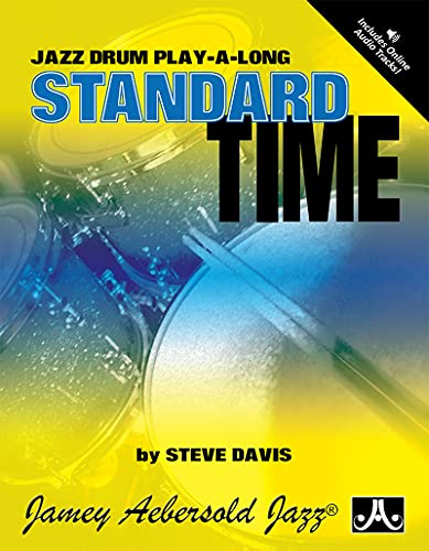9781562241100: Standard Time: Jazz Drum Play-A-Long (Book & CD Set)