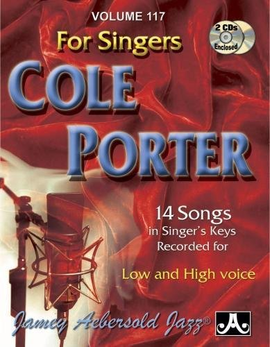 9781562241551: Play-A-Long Series, Vol. 117, Cole Porter For Singers (Book & 2-CD Set) (Jazz Sing-A-Long)