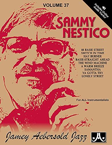 9781562241957: Jamey Aebersold Jazz -- Sammy Nestico, Vol 37: Book & CD (Jazz Play-A-Long for All Instrumentalists)