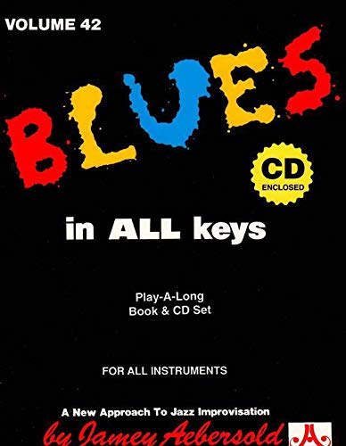 Vol. 42, Blues In All Keys (Book: Jamey Aebersold