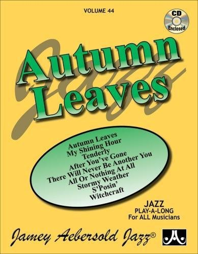 Vol. 44, Autumn Leaves (Book & CD: Jamey Aebersold