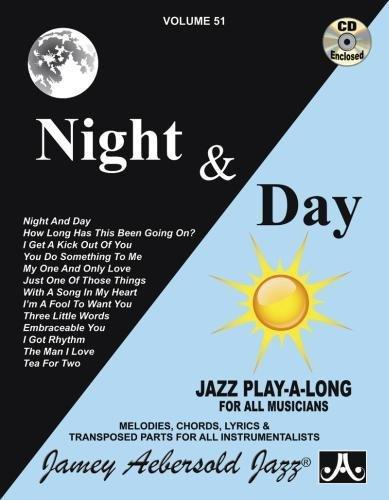9781562242107: AEBERSOLD 51 CD NIGHT AND DAY (BROCHE+CD)