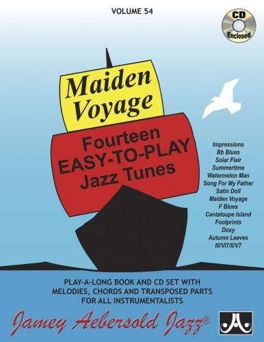 9781562242121: Vol. 54, Maiden Voyage: Fourteen Easy-To-Play Jazz Tunes (Book & CD Set) (Play- a-Long)