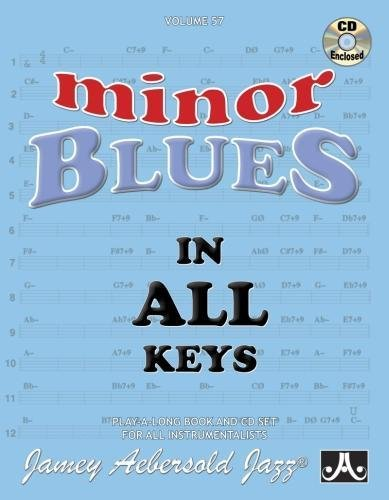 9781562242152: Vol. 57, Minor Blues In All 12 Keys (Book & CD Set) (Play-a-Long)