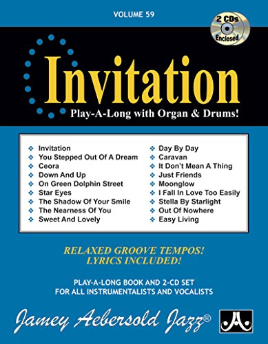 Jamey Aebersold Jazz -- Invitation, Vol 59: Aebersold, Jamey