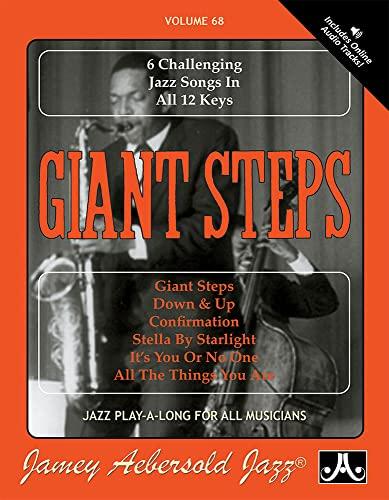Vol. 68, Giant Steps: 6 Challenging Jazz: Jamey Aebersold