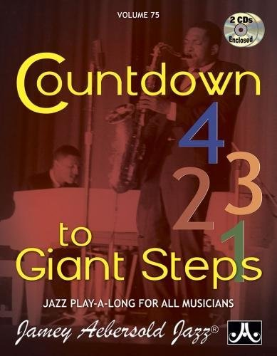 Vol. 75, Countdown To Giant Steps (Book & CD Set) (Play- a-Long): Jamey Aebersold