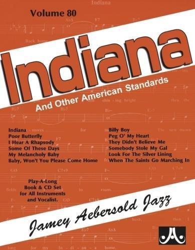 9781562242381: Indiana - Jamey Aebersold Jazz - Volume 80 (CD inclu)