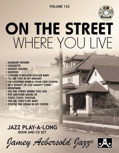 9781562242824: Play-A-Long Series, Vol. 132, On The Street Where You Live (Book & CD Set)