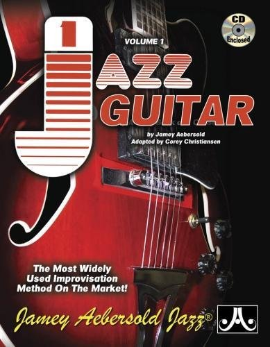 9781562242831: Jamey Aebersold Jazz, -- Jazz Guitar, Vol 1: The Most Widely Used Improvisation Method on the Market!, Spiral-Bound Book & 2 CDs (Jamey Aebersold Play-A-Long Series)