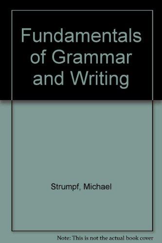 9781562261085: Fundamentals of Grammar and Writing