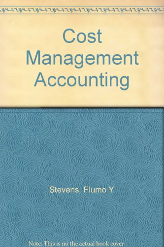 9781562262587: Cost Management Accounting