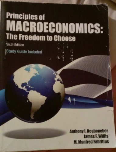 9781562266301: Principles of Macroeconomics The Freedom to Choose