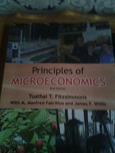 Principles of Microeconomics: Tuathal T. Fitzsimmons