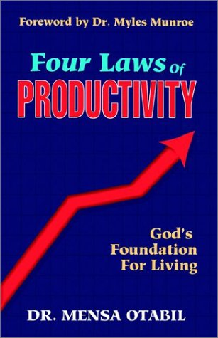 9781562294052: Four Laws of Productivity