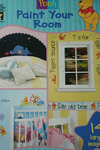 Disney's Winnie the Pooh, Paint Your Room,: Various Authors