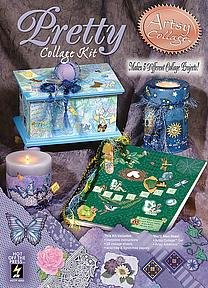 9781562318789: Artsy Collage: Pretty Collage Kit