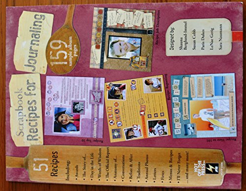 Scrapbook Recipes for Journaling (159 sample album pages): Sherry Harbert