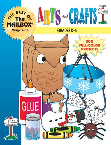 9781562341121: Arts and Crafts Grades K-6 (The Best Of The Mailbox)