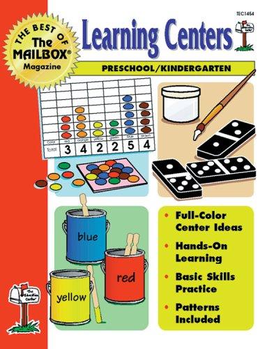 9781562341497: THE BEST OF THE MAILBOX LEARNING CENTERS PRESCHOOL/KINDERGARTEN