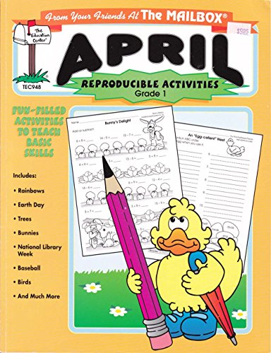April: A Month of Reproducibles At Your Fingertips (From Your Friends At The Mailbox, Grade 1): ...