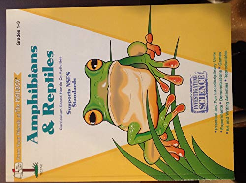 Amphibians & reptiles: Grades 1-3 (Investigating science series): Prior, Jennifer Overend