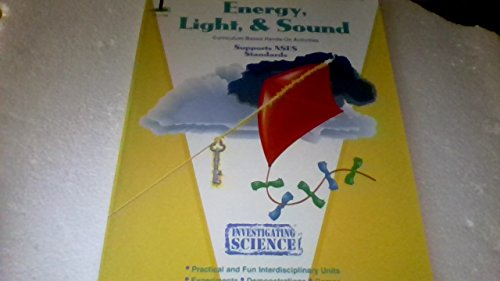 9781562344290: Energy, light & sound: Grades 1-3 (Investigating science series)
