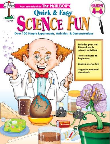 9781562345150: Quick & Easy Science Fun Grades 4-6