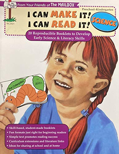 9781562345181: I can make it! I can read it!: 20 reproducible booklets to develop early literacy skills : science