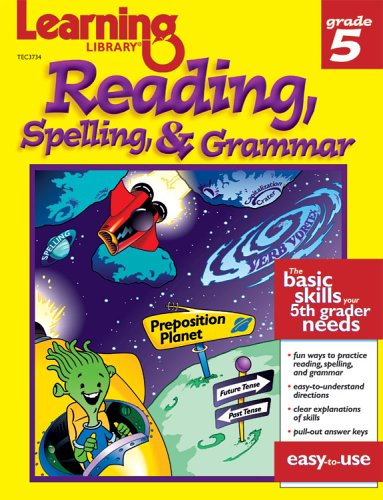 Learning Library Reading, Spelling & Grammar Grade 5: The Mailbox Books Staff