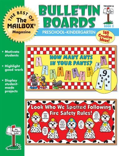 9781562345839: The Best of The Mailbox Bulletin Boards Preschool/Kindergarten Book 2