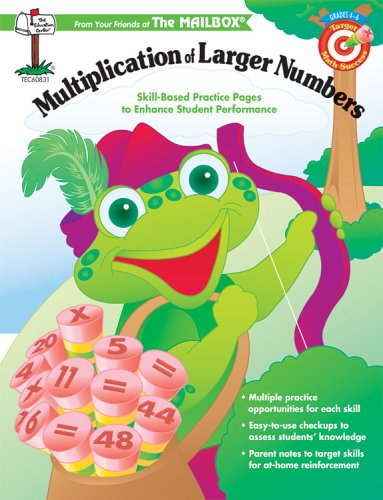 Target Math Success Multiplication of Larger Numbers: The Mailbox Books Staff