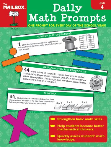 9781562346492: Daily Math Prompts (Gr. 4)
