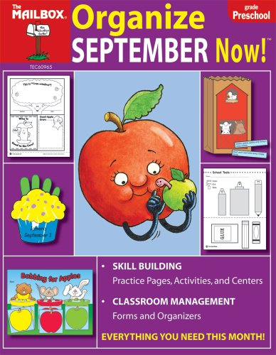 9781562346669: Organize September Now! (PreK)