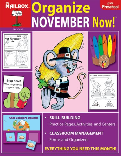 9781562346720: Organize November Now! (PreK)