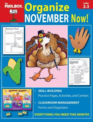 9781562346737: Organize November Now! (Grs. 2-3)