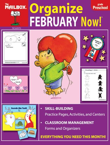 9781562346812: Organize February Now! (PreK)
