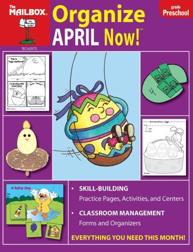 9781562346881: Organize April Now! (PreK)