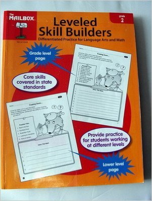 9781562347024: Leveled Skill Builders: Differentiated Practice for Language Arts and Math